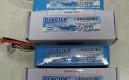 (2) Glacier 6S 5000 lipo's NEW