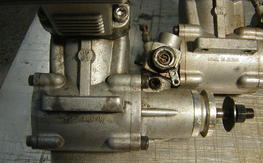 a pair of FSR 60 ringed engines