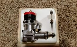 Vintage McCoy 35 Red head Stunt Engine Mint in Box