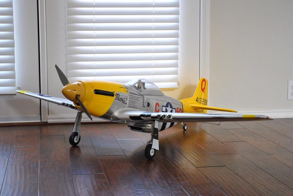 Name: P-51 Left Front Qtr.jpg