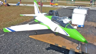 My Viper before first maiden flight. It was doomed before takeoff.  nose gear too short and control throws too great.  Since it's repair, it has been such an outstanding flyer.