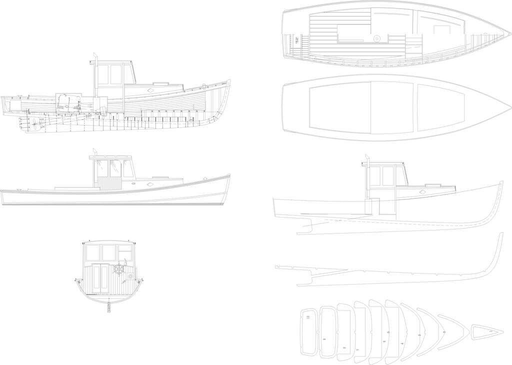 Scale Boats Lobster Boat Plans Post 13043685 Attachment Lobster Boat ...