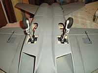 Name: P2140013.jpg Views: 242 Size: 43.4 KB Description: Main Retarcts and aileron servo covers