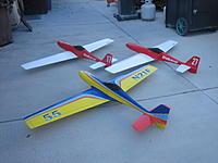 Name: 20120120 009.jpg Views: 179 Size: 151.2 KB Description: Travis Flynn, Gary Schmidt and Jim Allen's models built by myself