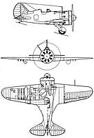 Name: 3View-Polikarpov-I-16.jpg