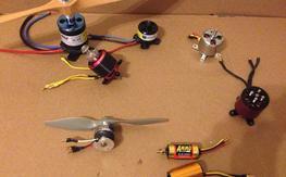 MOTORS Hacker, Ef torque, multiplex, rimfire, parkzone, ammo