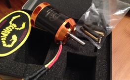 (2) NIB Scorpion 3026 v2 1900kv motors
