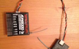 AR8000x dsmx rxr with dsmx satellite brand new one week old never touched but for pic