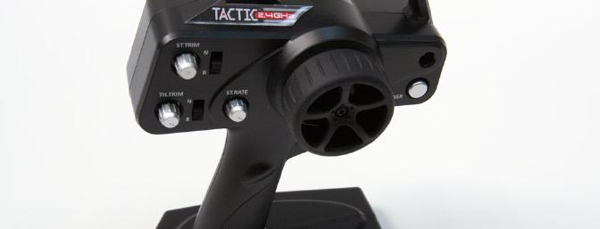 Tactic 2.4GHz TTX240 with Secure Link Technology (included in RTR version)