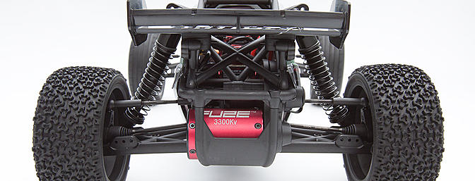 The business end of the Glamis Uno