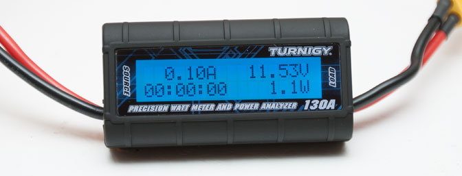 Video Review: Turnegy Precision Watt Meter and Power Analyzer