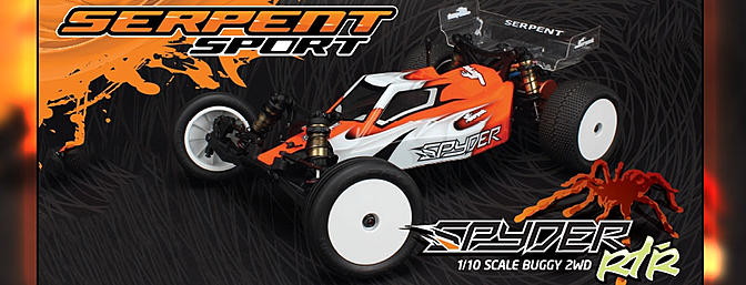 Serpent Spyder RTR Buggy RM 1/10 2wd