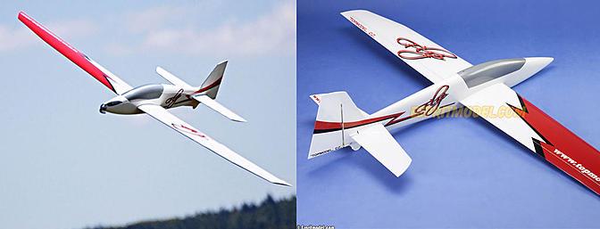 Espritmodel Flip 3D Sailplane ARF
