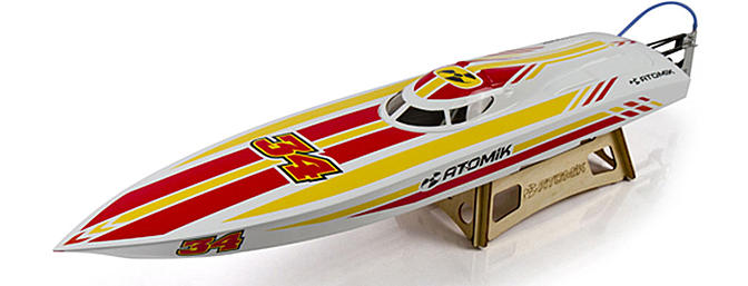 "Atomik P1 35"" Brushless Offshore Vee"