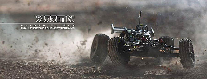 Coming Soon! Arrma Raider XL BLX