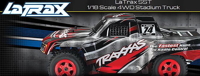 LaTrax SST 1/18 Scale 4WD Stadium Truck