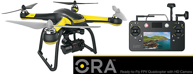 ORA - Ready-To-Fly Quadcopter