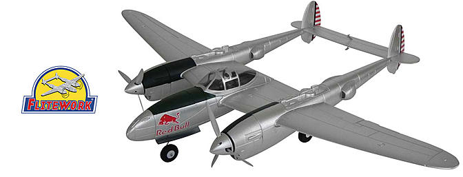 Flitework Flying Bulls P-38 Lightning