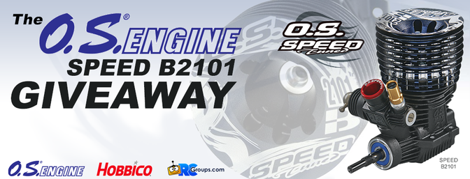 The O.S. Engines Speed B2101 Giveaway!