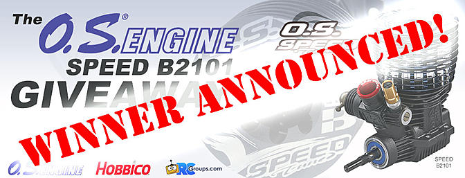 Winner Announced! The O.S. Engines Speed B2101 Giveaway