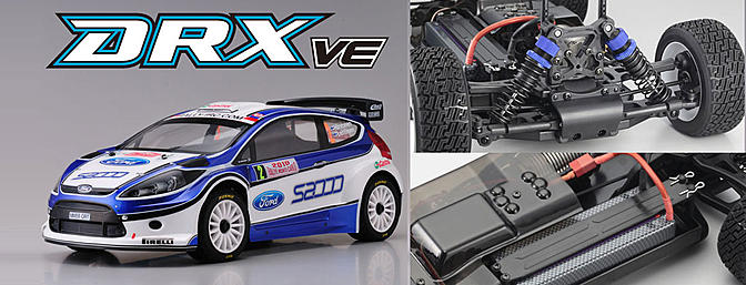 Kyosho 1/9 DRX 2010 Ford Fiesta S2000