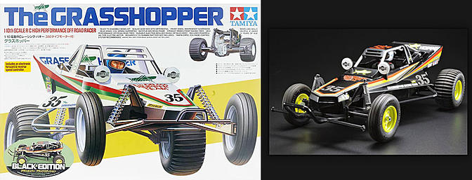 Tamiya Grasshopper Black Edition
