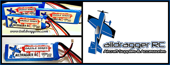 Dazzler Series HV LiPo RX Packs - Taildragger RC
