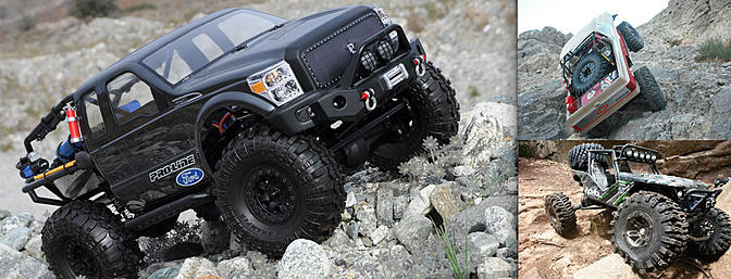 Four Sport RC Rock Crawler Kits