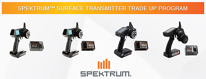 Spektrum Surface Tx - Trade Up Program