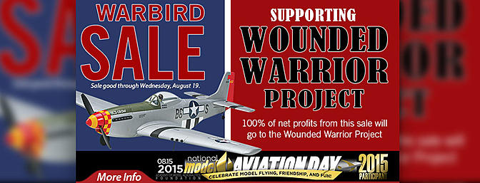 Warbird Sale Supporting The Wounded Warrior Project