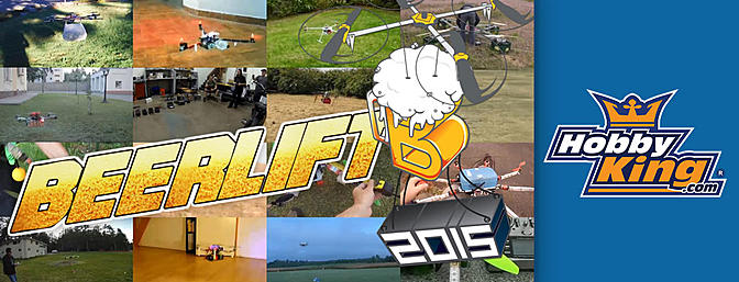 Multirotor Beerlift 2015!