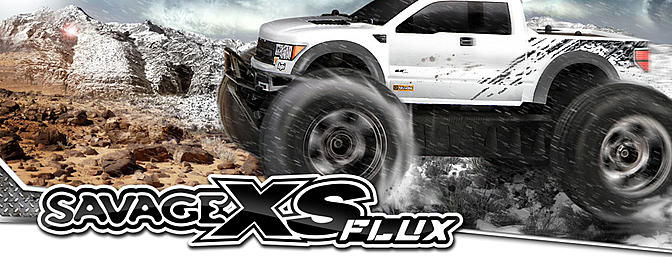 HPI Racing Savage XS Flux Ford Raptor