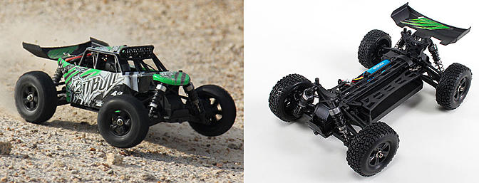 Basher PitBull 4WD 1/18 Mini Desert Buggy