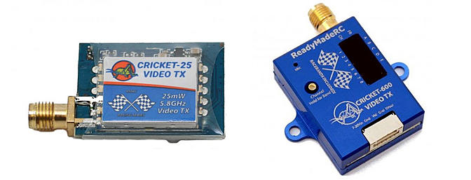 ReadyMadeRC Cricket 5.8GHz Video Transmitters