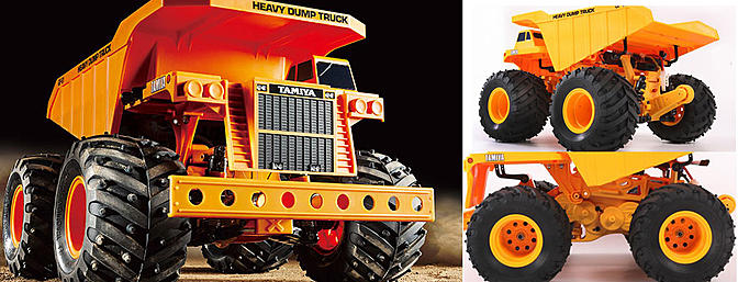 Tamiya 1/24 Heavy-Duty Dump Truck 4WD Kit