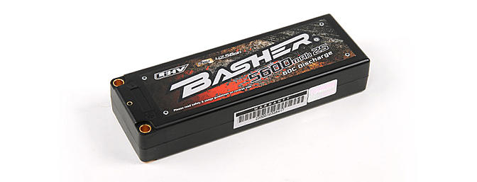 Coming Soon! Basher 5600mAh 2S2P 60C Hardcase LiHV Pack