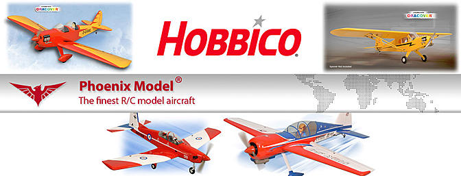 Hobbico Announces Four New Aircraft from Phoenix Model