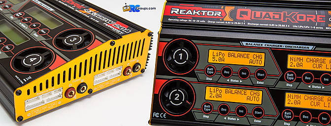 Turnigy Reaktor QuadKore Charger - RCGroups Mini Review