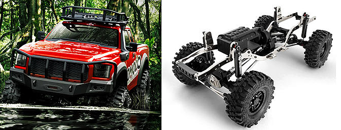 GMade GS01 KOMODO Crawler Kit