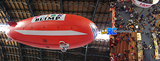 E-Fest 2016 - Ride Along With The Prize Blimp