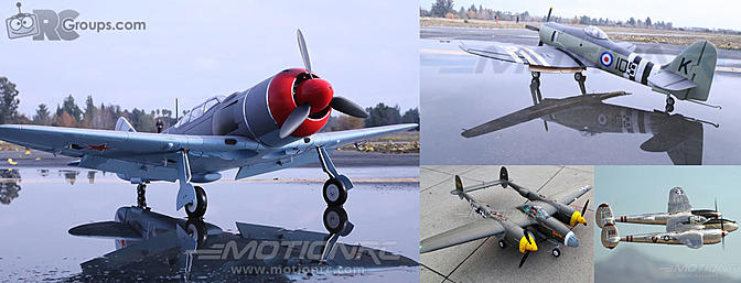 FlightLineRC - New Warbird Lineup from Freewing