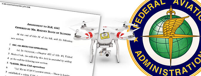 The Micro UAS Operations Amendment to the Aviation Reauthorization Act of 2016
