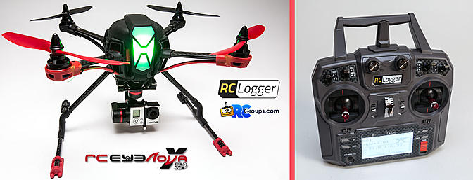 RCLogger NovaX 350 -RCGroups Review