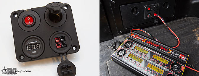 12v Power in the Field - Vehicle Mounted Powerwerx Panel Installation