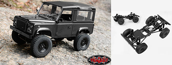 RC4WD 1/18 Gelande II RTR with D90 Body