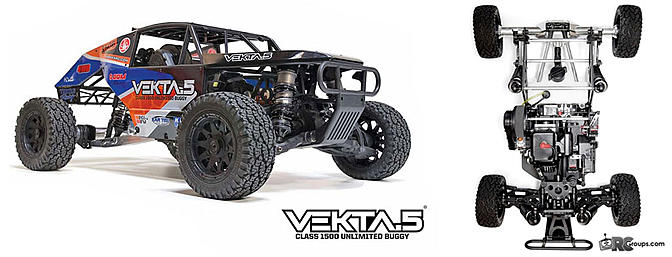 Kraken Vekta.5 1/5th Scale Unlimited Buggy