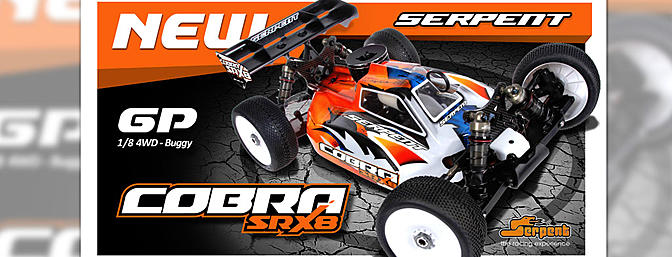 Serpent RC Cobra SRX8