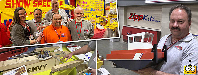 The Zippkits Booth - Toledo Weak Signals Expo 2016