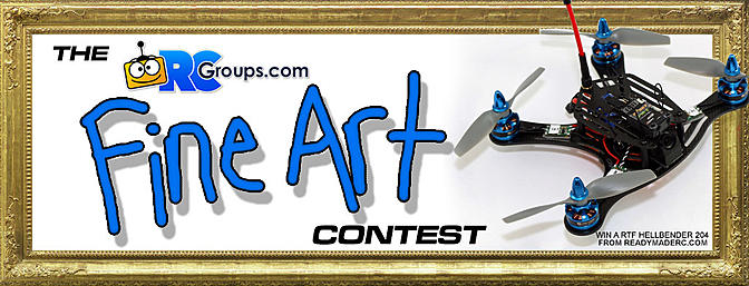 We Have A Winner! The RCGroups Fine Art Contest