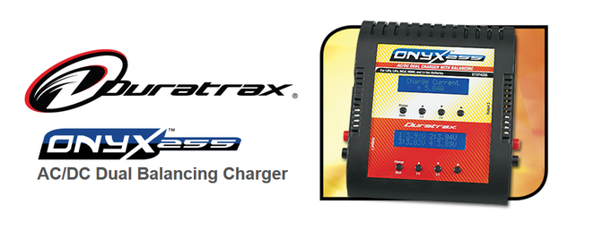 Duratrax Onyx 255 - AC/DC Balancing Charger